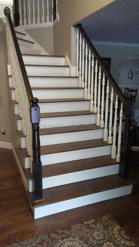 black staircase black and white staircase railing 1 best staircase ideas