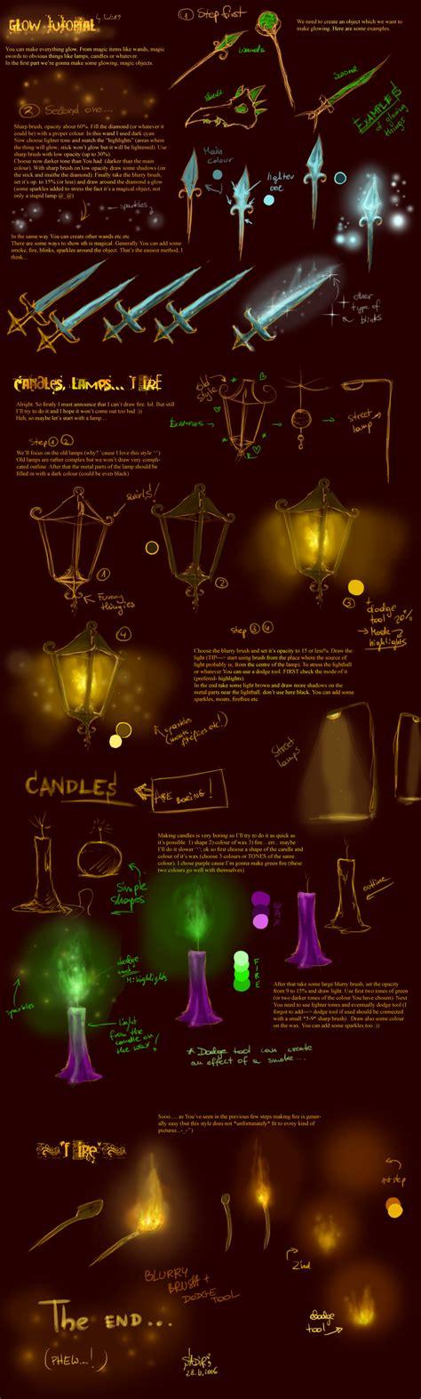 glow in the painting tutorial glow tutorial by sadir89 on deviantart