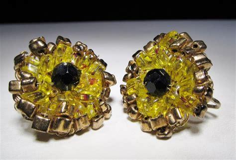 bead stores eugene oregon vintage eugene beaded necklace earrings set wc 343