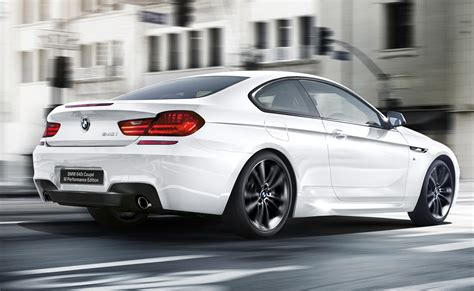 Bmw 640i by Official 2016 Bmw 640i Coupe M Performance Edition Gtspirit