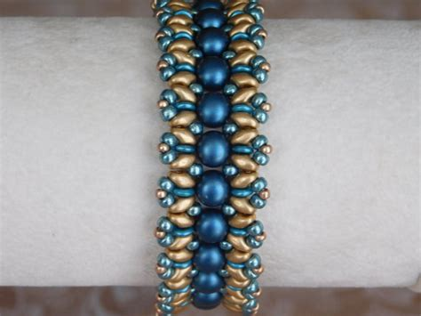 2 bead patterns bead bracelet tutorial beading pattern superduo 2