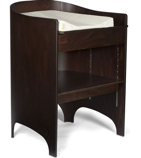 leander changing table tulip leander changing table pad walnut