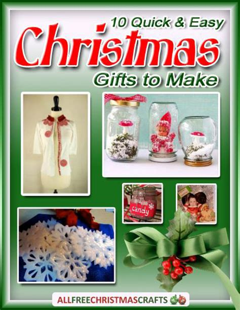 gifts for to make 10 and easy gifts to make free ebook