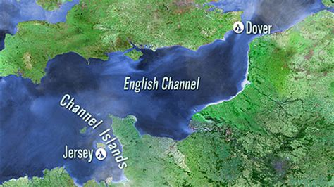 a channel coast