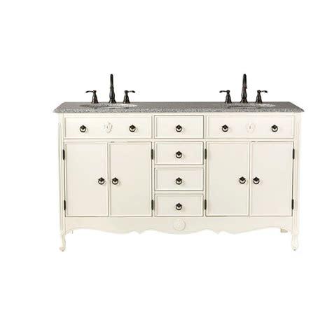home decorators bathroom vanities home decorators collection 61 in w vanity in ivory