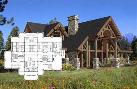timber frame house floor plans timber frame homes precisioncraft timber homes post