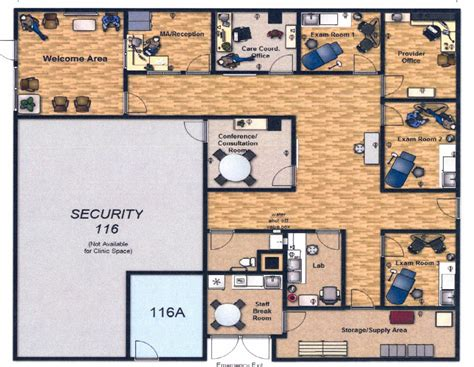 wellness center floor plan pin clinic floor plans by judith on