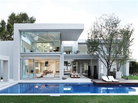 pictures of modern homes modern residence in johannesburg with bold architecture