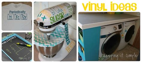 vinyl craft projects keeping it simple lots and lots of ideas crafts