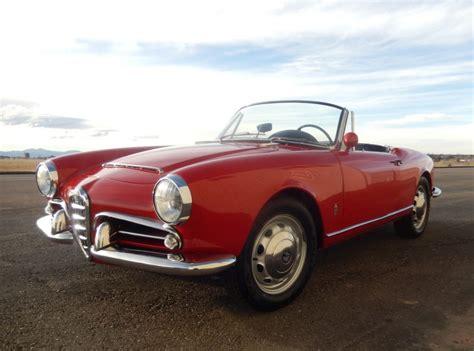 1965 Alfa Romeo Giulia by 1965 Alfa Romeo Giulia Spider 1600 For Sale On Bat