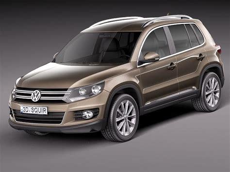 Volkswagen Suv Models by Volkswagen Tiguan Suv 2012 3d Model