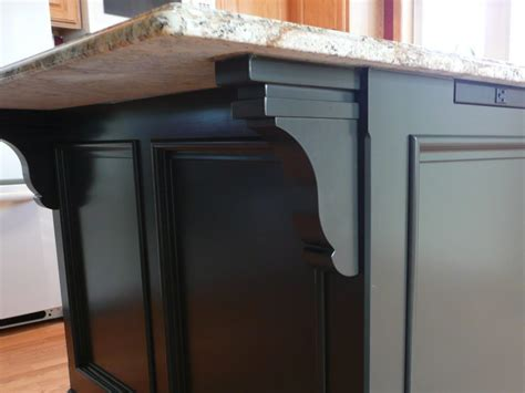 kitchen island corbels how to build a kitchen island