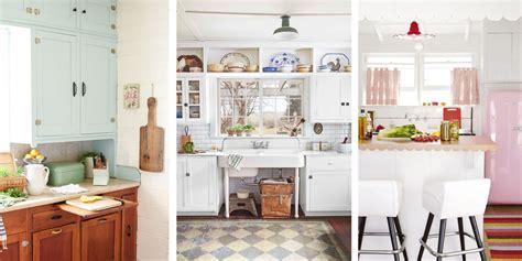 vintage kitchen decor ideas 20 vintage kitchen decorating ideas design inspiration