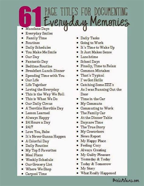 popular titles 25 best ideas about scrapbook titles on