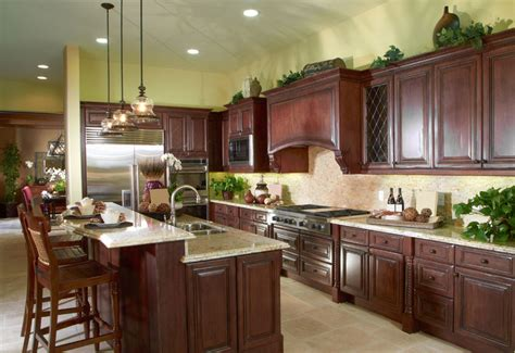 wood cabinets kitchen design 23 cherry wood kitchens cabinet designs ideas