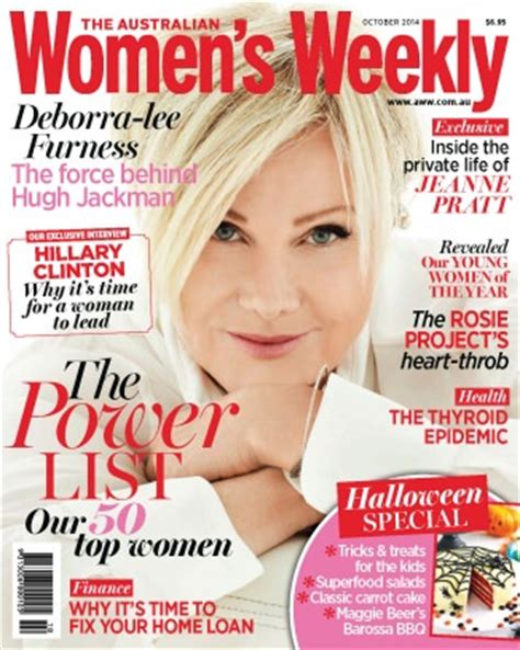 weekly magazines the australian s weekly magazine october 2014 issue