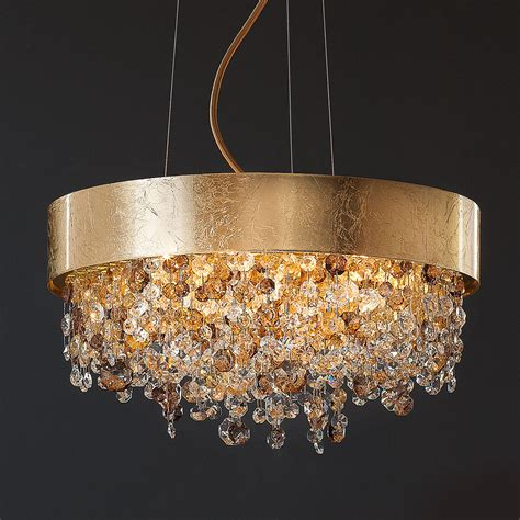 gold and chandeliers gold leaf contemporary chandelier juliettes