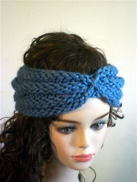 how to make a headband with a knitting loom knitted turban headband patterns a knitting
