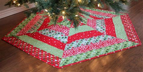 tree skirt quilt pattern jolly tree skirt pattern by a bright