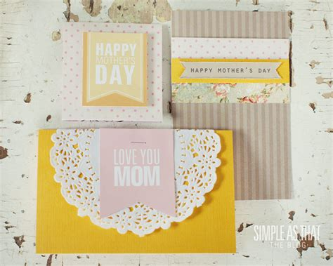 how to make simple mothers day cards simple s day card ideas simple as that