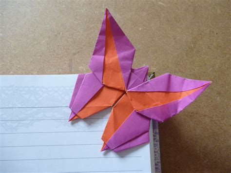 origami bookmark butterfly origami corner bookmarks atelier ilyere