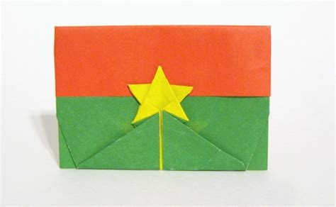 gilad origami flag of burkina faso gilad aharoni gilad s origami page