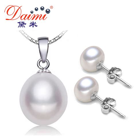 metal sts for jewelry aliexpress buy daimi pearl jewelry sets 925 silver