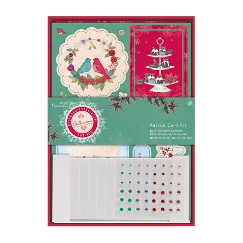 card kits uk bellissima rescue card kit docrafts from