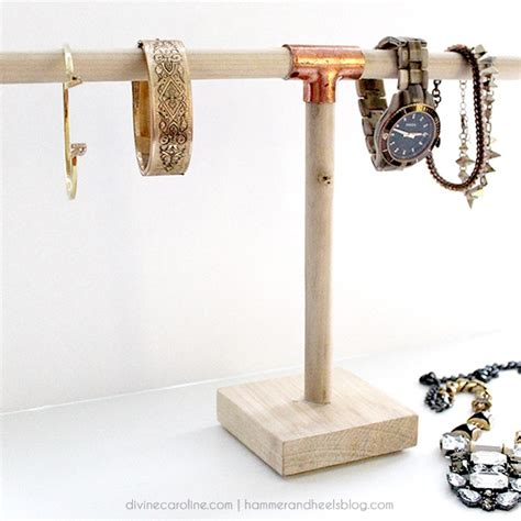 how to make a jewelry holder make it diy jewelry holder for 10 caroline