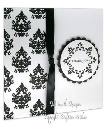 rubber sted cards damask rubber st