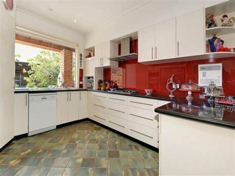 australian kitchen design tiles in a kitchen design from an australian home