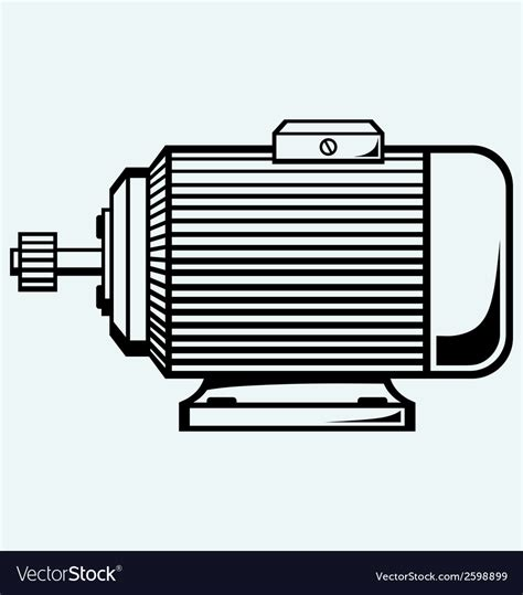 Electric Motor Images by Electric Motor Royalty Free Vector Image Vectorstock