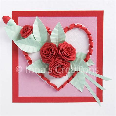 how to make paper roses for cards quilling design allfreepapercrafts