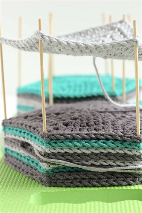 how to block knitting how to block crochet with easy diy blocking board