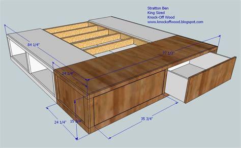 king bed plans woodworking diy king size bed frame plans platform woodworking