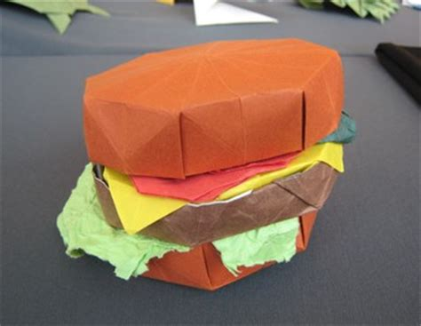 burger origami gilad s origami page bos 40th anniversary convention 2007
