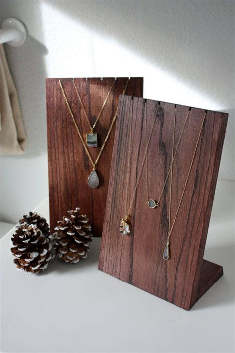 how to make a jewelry display 25 best ideas about wooden jewelry display on