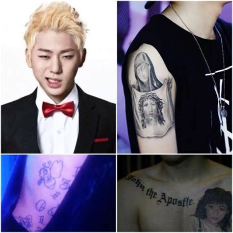 vote which k pop star looks best with tattoos soompi
