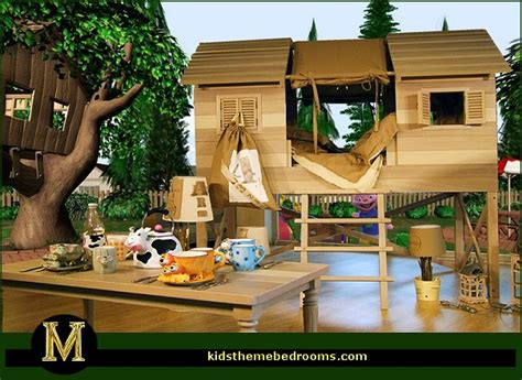 backyard rooms ideas decorating theme bedrooms maries manor treehouse theme