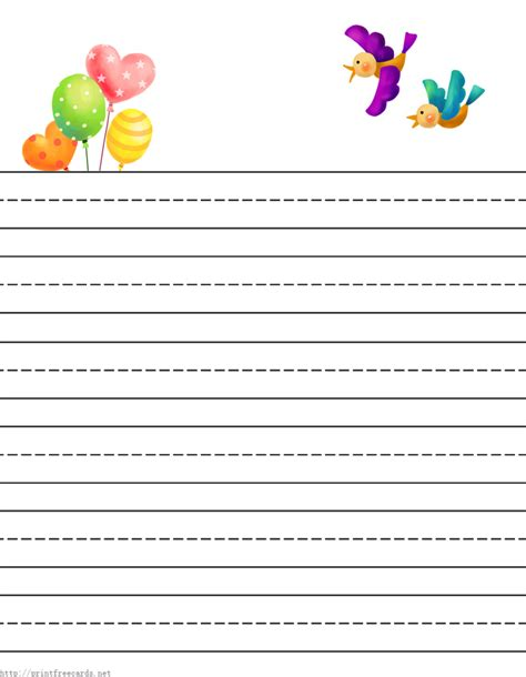 printable papers for card free printable stationery for free lined