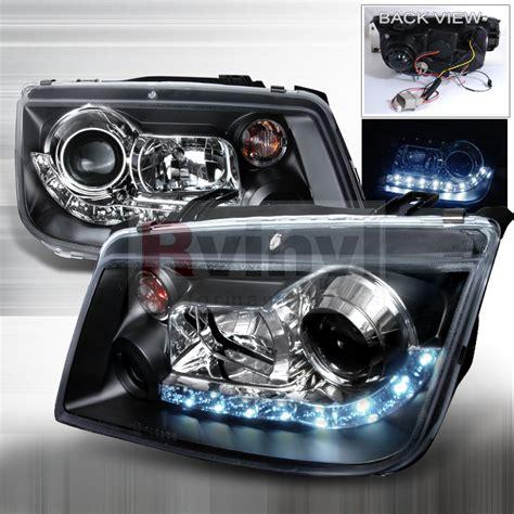 2001 Volkswagen Jetta Headlights by Spec D Tuning 174 Volkswagen Jetta 1999 2004 Led Halo Black