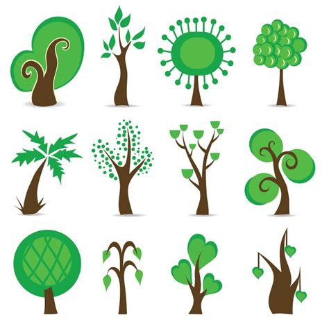 tree symbolism tree symbols vector graphic free vector graphics all