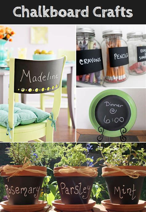 chalkboard paint craft projects chalkboard crafts