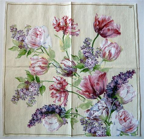 decoupage with paper napkins decoupage paper napkin garden roses chiarotino