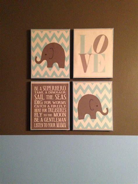 20 ideas of canvas prints for baby nursery wall ideas