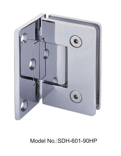 glass door hinges shower 90 degree pvd shower door hinges glass to wall with half