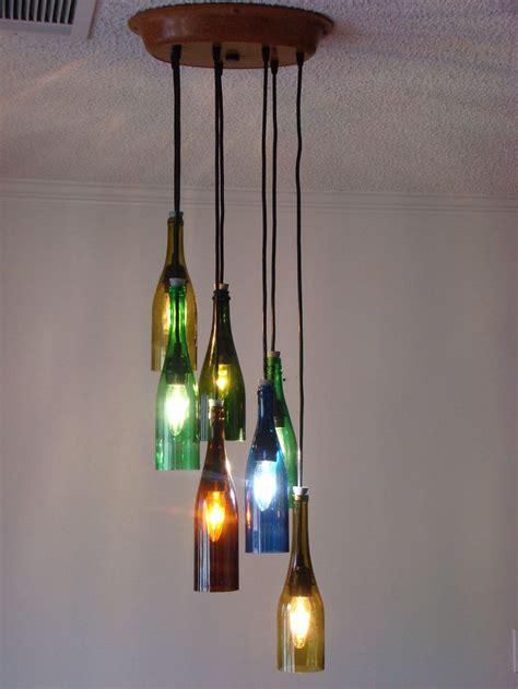 wine bottles chandelier 25 best ideas about wine bottle chandelier on