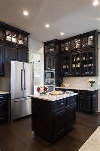 kitchen to go cabinets black kitchen cabinets with glass doors quicua