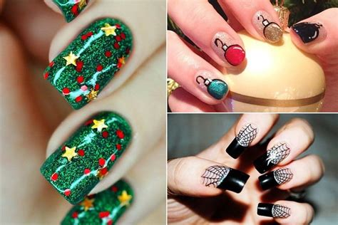 Home Decor Trends 2015 51 christmas nail art ideas you must try
