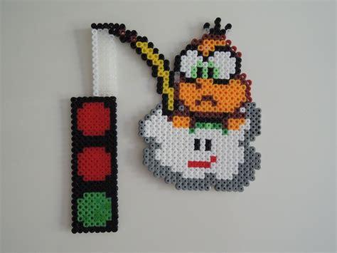 perler bead mario mario kart b 252 gelperlen perler strijkkralen